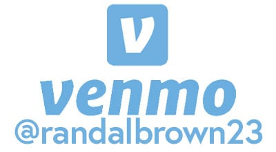 We accept Venmo